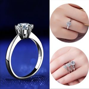 Jewelry - CZ 925 Sterling Silver Ring